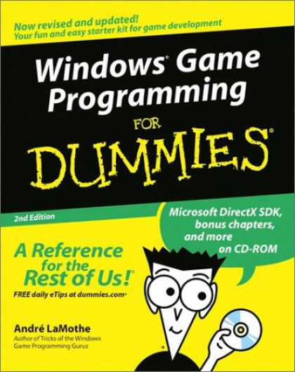 Books About Video Games - Windows Game Programming for Dummies, Second Edition