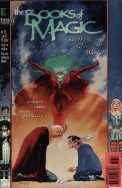 Books of Magic 13 - Dc - Direct Sales - Spectacle - Small Glass Weekly - Marvel - Charles Vess