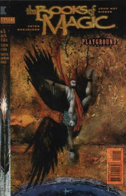 Books of Magic 15 - Playgrounds Part One - Black Wings - Fallen Angel - Flaming Arrow - Dark Angel