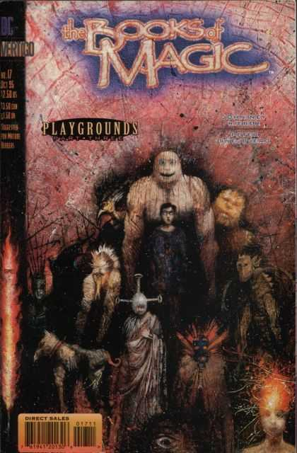 Books of Magic 17 - The Books Of Magic - Playgrounds - No 17 - Vertigo - Blue