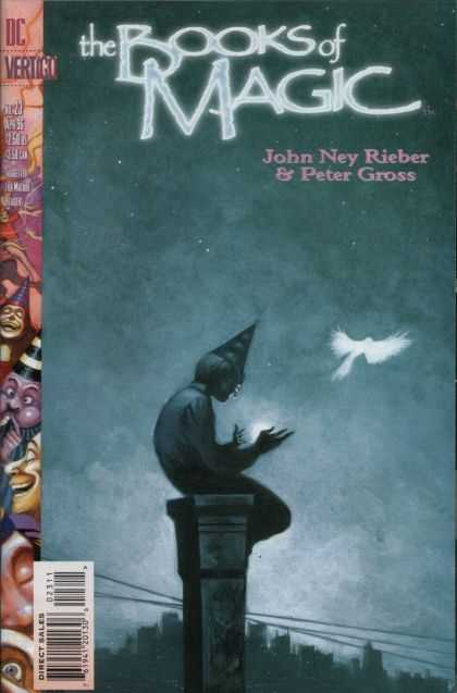 Books of Magic 23 - John Ney Rieber - Peter Gross - Books Of Magic - Wizard - Bird