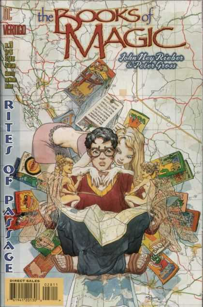 Books of Magic 28 - Michael Kaluta
