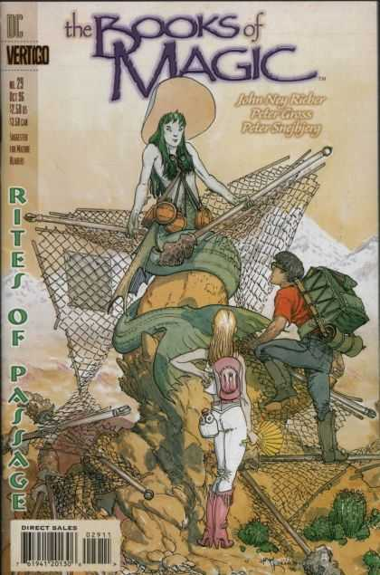 Books of Magic 29 - Hat - Net - Woman - Rites Of Passage - Baggage - Michael Kaluta