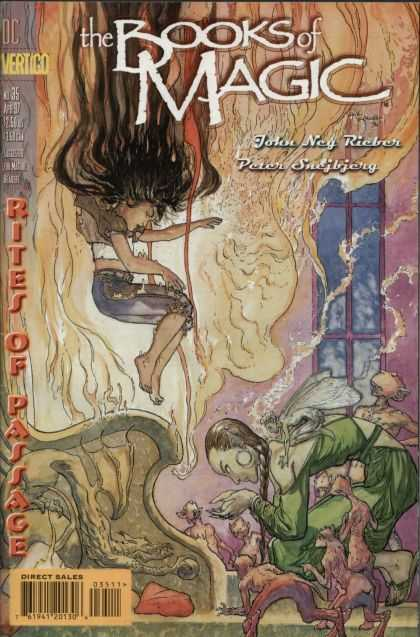 Books of Magic 35 - Michael Kaluta