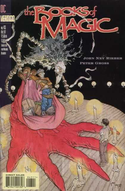 Books of Magic 43 - Michael Kaluta
