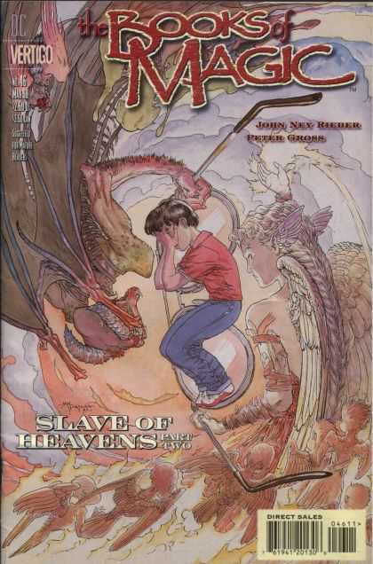 Books of Magic 46 - Miracle - Magic - Heaven - John Rey - Peter Gross - Michael Kaluta