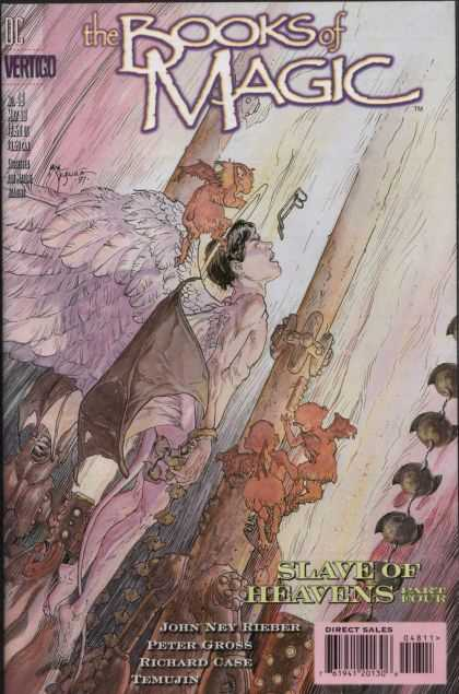 Books of Magic 48 - Michael Kaluta