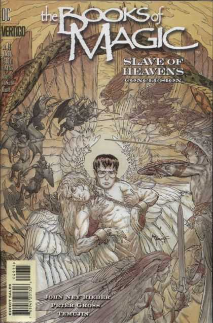Books of Magic 49 - Michael Kaluta