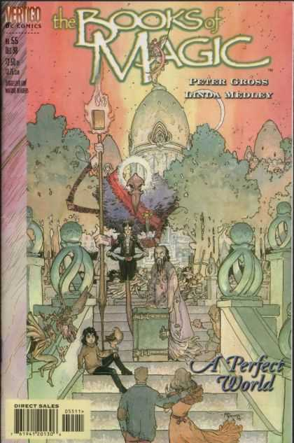 Books of Magic 55 - Magic - Scorcery - Witchcraft - Vertigo - Medley - Michael Kaluta