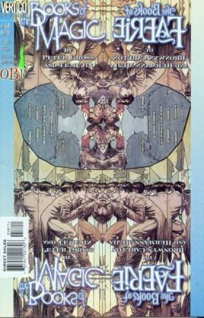 Books of Magic 58 - Magic Fairie - Look Alike - Men - Bats - Mirror - Michael Kaluta