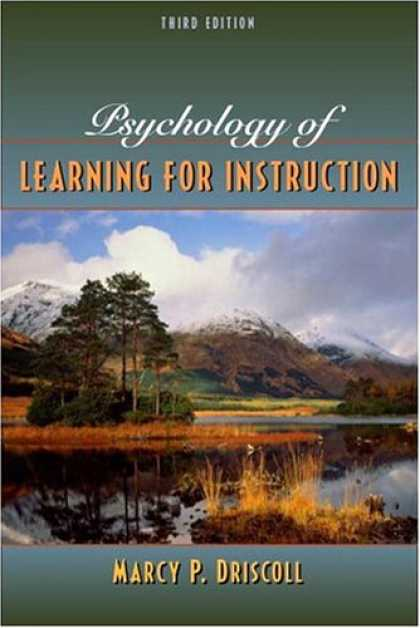 Books on Learning and Intelligence - Psychology of Learning for Instruction (3rd Edition)