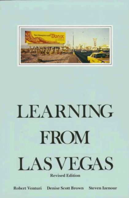Books on Learning and Intelligence - Learning from Las Vegas - Revised Edition: The Forgotten Symbolism of Architectu