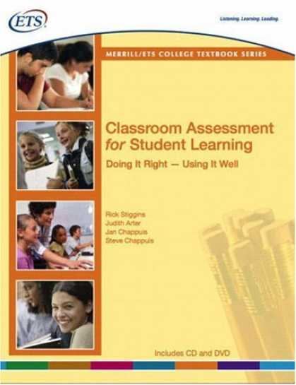 Books on Learning and Intelligence - Classroom Assessment for Student Learning: Doing It Right--Using It Well
