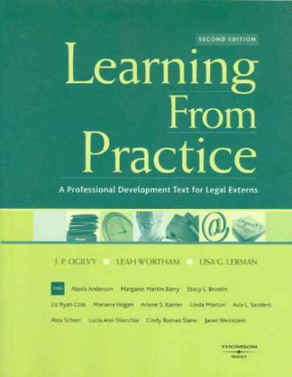 Books on Learning and Intelligence - Learning From Practice: A Professional Development Text for Legal Externs