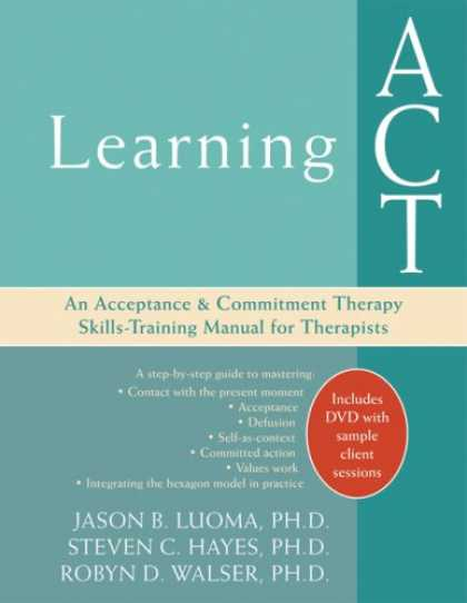 Books on Learning and Intelligence - Learning Act: An Acceptance & Commitment Therapy Skills-Training Manual for Ther