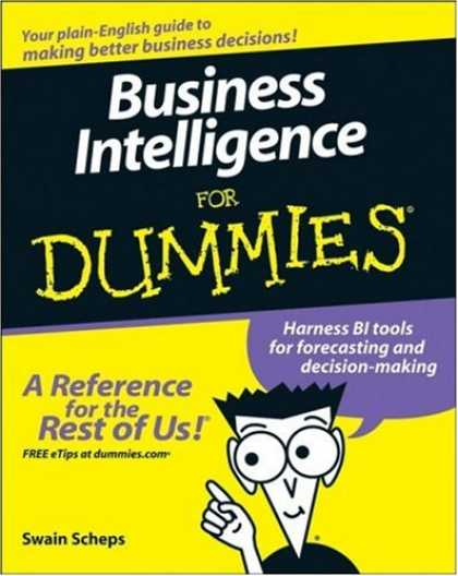 Books on Learning and Intelligence - Business Intelligence For Dummies (For Dummies (Business & Personal Finance))