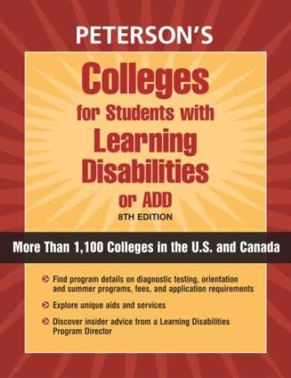 Books on Learning and Intelligence - Colleges for Students with Learning Disabilities or ADD