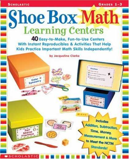 Books on Learning and Intelligence - Shoe Box Math Learning Centers: Forty Easy-to-Make, Fun-to-Use Centers with Inst