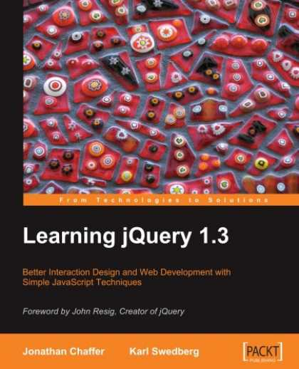 Books on Learning and Intelligence - Learning jQuery 1.3