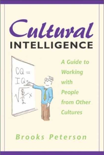 Books on Learning and Intelligence - Cultural Intelligence: A Guide to Working with People from Other Cultures