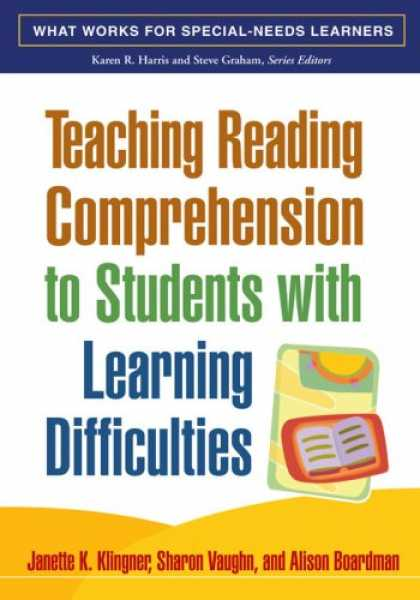 Books on Learning and Intelligence - Teaching Reading Comprehension to Students with Learning Difficulties (What Work