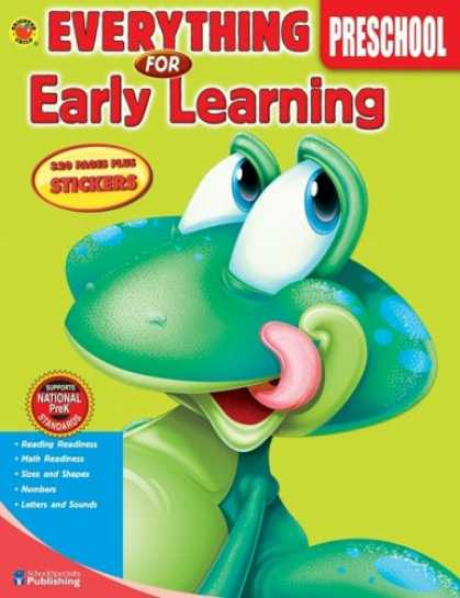 Books on Learning and Intelligence - Everything for Early Learning, Preschool