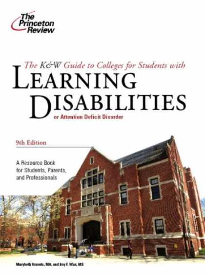 Books on Learning and Intelligence - K & W Guide to Colleges for Students with Learning Disabilities, 9th Edition (Co