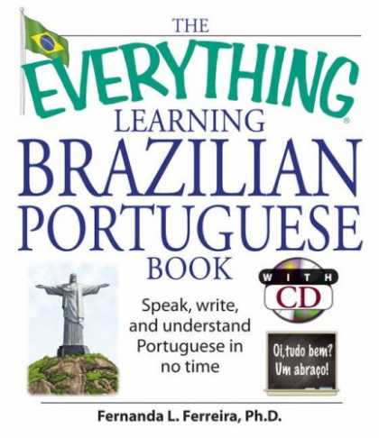 Books on Learning and Intelligence - The Everything Learning Brazilian Portuguese Book: Speak, Write, and Understand