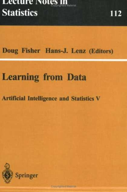 Books on Learning and Intelligence - Learning from Data: Artificial Intelligence and Statistics V (Lecture Notes in S
