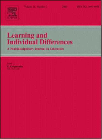 Books on Learning and Intelligence - What facets of openness and conscientiousness predict fluid intelligence score?