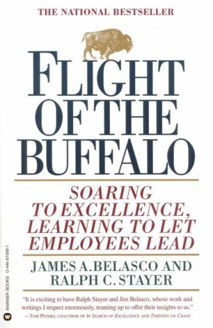 Books on Learning and Intelligence - Flight of the Buffalo: Soaring to Excellence, Learning to Let Employees Lead