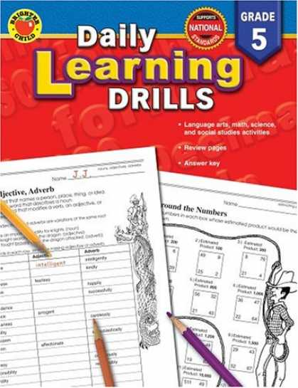 Books on Learning and Intelligence - Daily Learning Drills Grade 5