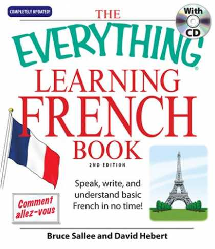 Books on Learning and Intelligence - Everything Learning French: Speak, Write, and Understand Basic French in No Time