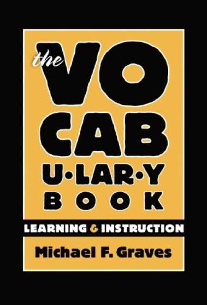 Books on Learning and Intelligence - The Vocabulary Book: Learning & Instruction (Language and Literacy Series)