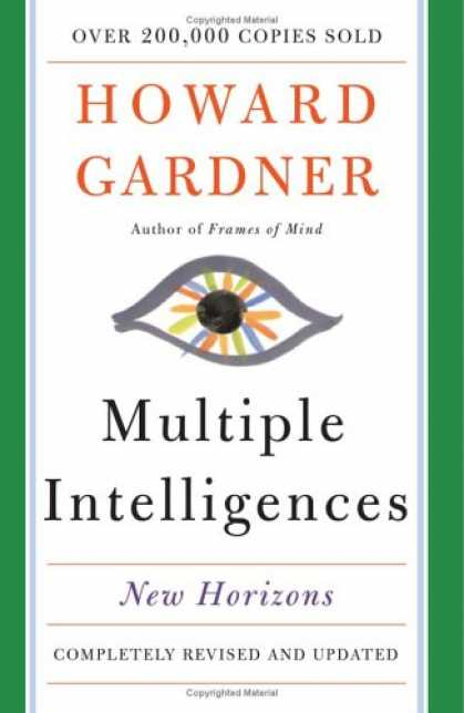 Books on Learning and Intelligence - Multiple Intelligences: New Horizons in Theory and Practice
