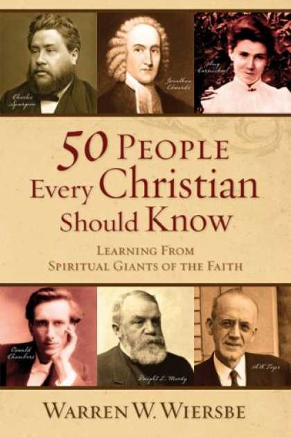 Books on Learning and Intelligence - 50 People Every Christian Should Know: Learning from Spiritual Giants of the Fai