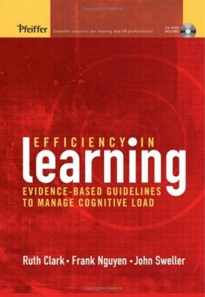 Books on Learning and Intelligence - Efficiency in Learning: Evidence-Based Guidelines to Manage Cognitive Load