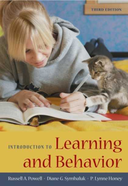 Books on Learning and Intelligence - Introduction to Learning and Behavior