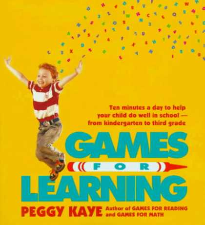 Books on Learning and Intelligence - Games for Learning: Ten Minutes a Day to Help Your Child Do Well in School-From