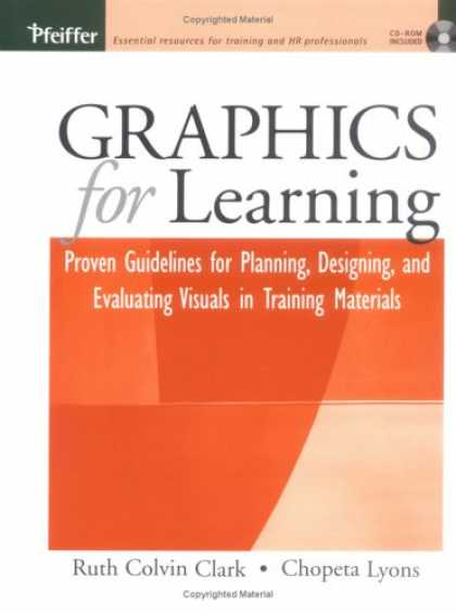Books on Learning and Intelligence - Graphics for Learning: Proven Guidelines for Planning, Designing, and Evaluating