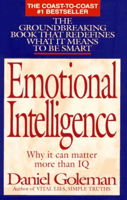 Books on Learning and Intelligence - Emotional Intelligence: Why It Can Matter More Than IQ