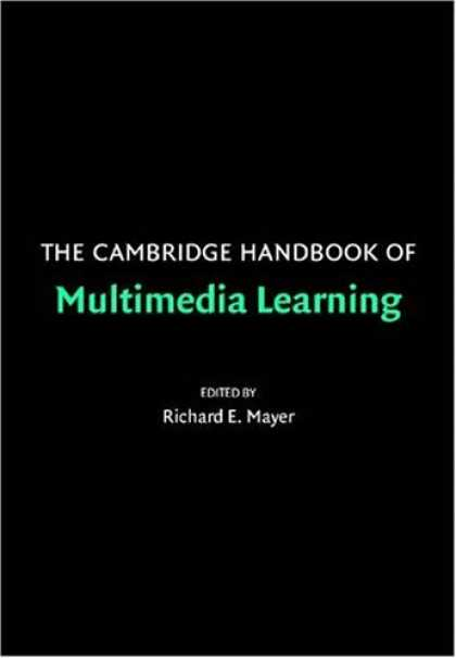 Books on Learning and Intelligence - The Cambridge Handbook of Multimedia Learning