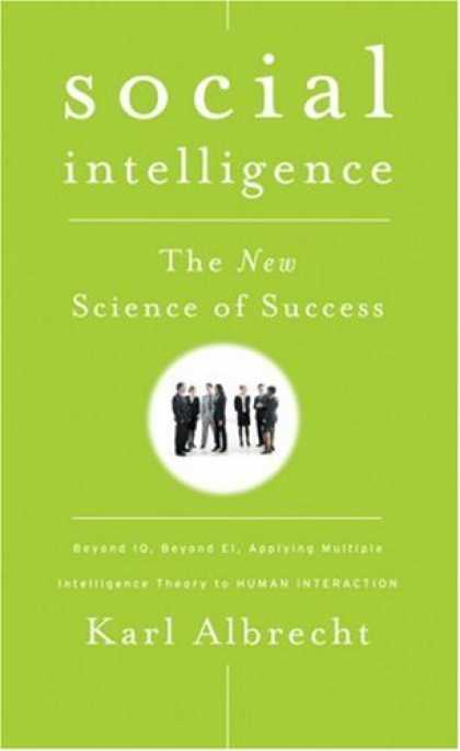 Books on Learning and Intelligence - Social Intelligence: The New Science of Success
