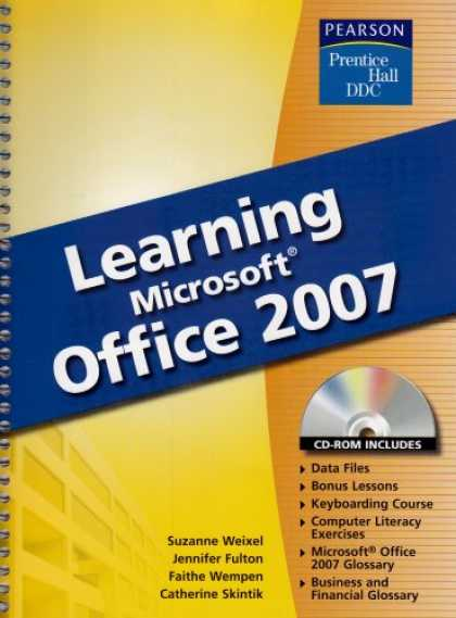 Books on Learning and Intelligence - Learning Microsoft Office 2007
