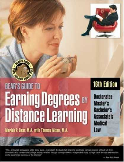 Books on Learning and Intelligence - Bears Guide to Earning Degrees by Distance Learning (Bear's Guide to Earning Deg