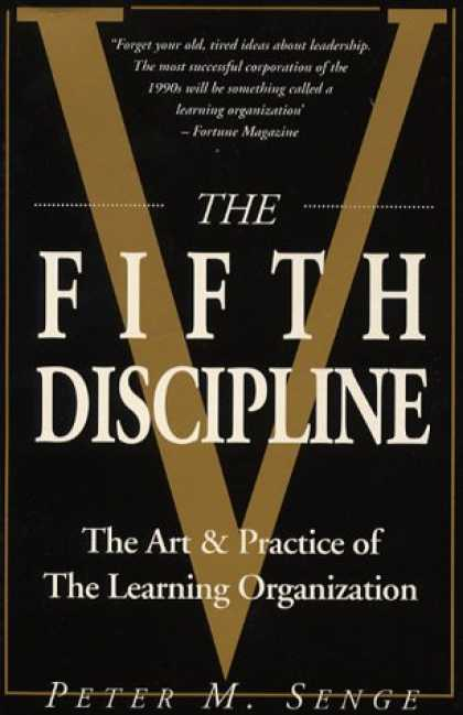 Books on Learning and Intelligence - The Fifth Discipline: Art and Practice of the Learning Organization (Century bus