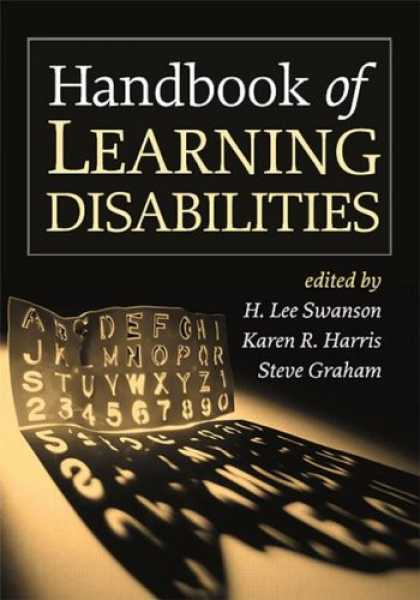 Books on Learning and Intelligence - Handbook of Learning Disabilities