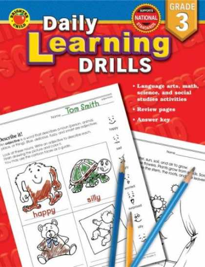 Books on Learning and Intelligence - Daily Learning Drills Grade 3