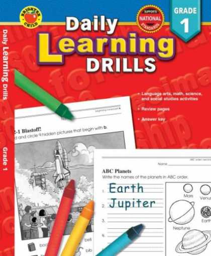 Books on Learning and Intelligence - Daily Learning Drills Grade 1