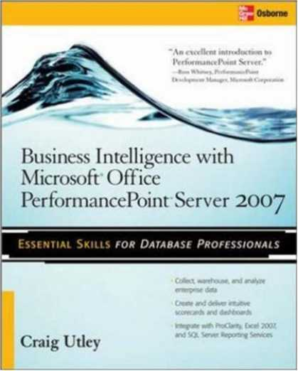 Books on Learning and Intelligence - Business Intelligence with Microsoft® Office PerformancePoint Server 2007